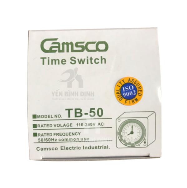 TIMER ĐẢO CAMSCO TB-50 Cho Nhà Nuôi Chim Yến